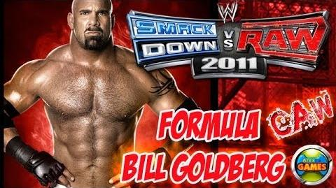 How to Create Bill Goldberg - Formula SvR 2011