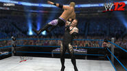 Taker chokeslams christian