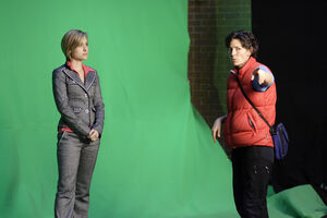 Allison Mack and Mairzee Almas from Hex