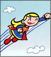 Supergirl Tiny Titans 001
