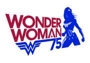 Wonder Woman75 logo