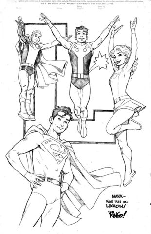 File:Superboy and the Legion by Mike Weringo.jpg