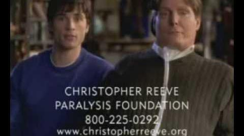 Smallville Christopher Reeve Paralysis Foundation