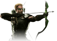 Green arrow injustice 2 render