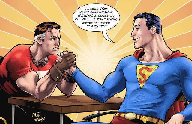 File:Superman vs Tom Strong.jpg