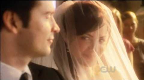 Clark and Lois' wedding.