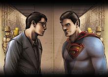 Superman or Clark, what a dilemma!!!