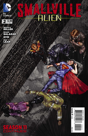 Smallville S11 Alien I02 - Cover A