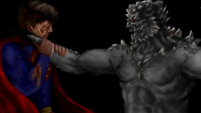 DOOMSDAY vs SUPERMAN
