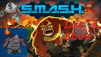 SMASH MONSTERS LET´S SHOW RED BARF-0