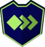 Emblem - Green Lozenges