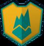 Emblem - Green Trimount
