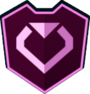 Emblem - Pink Heart