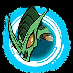 Green Hydra - Blue Ring