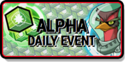 Alpha Daily Event Tile