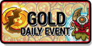 Gold Daily Event Tile