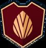 Emblem - Brown Leaf