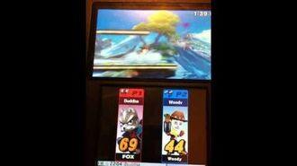 Fox VS. Woody Smash 4