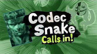 Smash Bros Lawl Character Moveset - Codec Snake