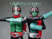 Kamen rider congratulations