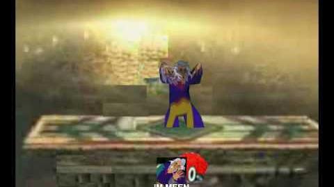 Smash Bros Brawl Character Moveset - IM Meen
