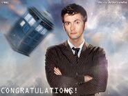 Dr.who congratulations