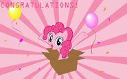 Pinkie pie congratulations