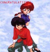 Ranma saotome congratulations