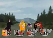 Battle against the French Disney Villains