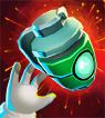 Card grenade