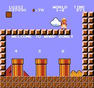 Luigi rescue Mario (SMB Hack) 003