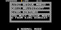 Luigi rescue Mario