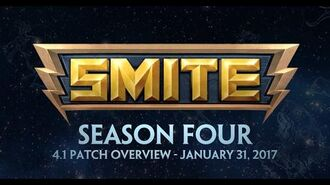 SMITE 4.1 Patch Overview - Season Four (January 31, 2017)