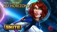 SMITE - New Skin for Nu Wa - Nu Horizons