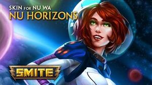 SMITE - New Skin for Nu Wa - Nu Horizons