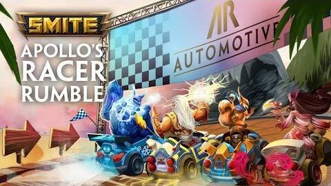 SMITE - Behind the Scenes - Apollo's Racer Rumble