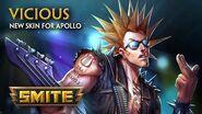 SMITE - New Skin for Apollo - Vicious