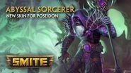 SMITE - New Skin for Poseidon - Abyssal Sorcerer