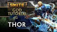 SMITE Tutorial - Thor, The God of Thunder