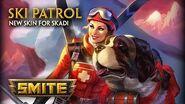 SMITE - New Skin for Skadi - Ski Patrol