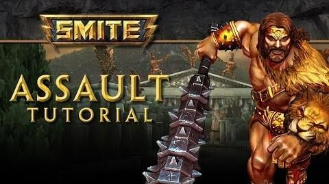 SMITE Tutorial - Assault