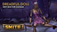SMITE - New Skin for Izanami - Dreadful Doll