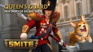 SMITE - New Skin for Erlang Shen - Queen's Guard
