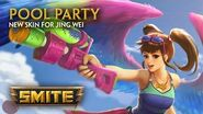 SMITE - New Skin for Jing Wei - Pool Party