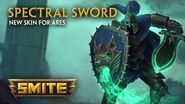 SMITE - New Skin for Ares - Spectral Sword