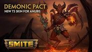 SMITE - New T5 Skin for Anubis - Demonic Pact