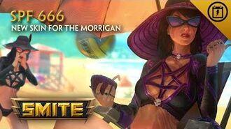 SMITE - New Skin for The Morrigan - SPF 666