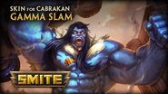 New Skin for Cabrakan - Gamma Slam
