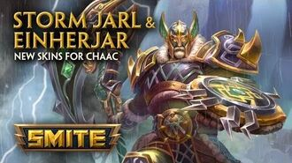 SMITE - New Skins for Chaac - Storm Jarl & Einherjar