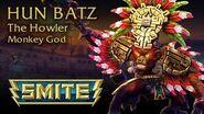 SMITE God Reveal - Hun Batz, The Howler Monkey God